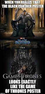 Meme Poster Maker - when you realize that the black panther poster looks exactly like