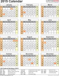 2015 calendar printable 2015 calendar united states