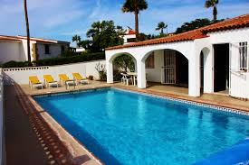 villa to rent in amarilla golf tenerife with private pool 30716