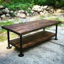 Industrial Coffee Table Diy How To Diy Industrial Coffee Table Diy Pinterest Industrial
