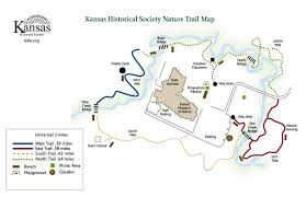 Buffalo Creek Trail Map Nature Trail Introduction Kansas Historical Society