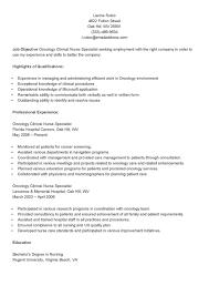 Program Specialist Resume Sample by Noc Resume Sample Resume For Your Job Application