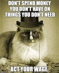 Meme Maker All The Things - fancy cat meme generator imgflip