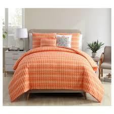 orange comforter bedding set target