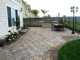 Cost Paver Patio Cost Of Patio Pavers Paver Patio Cost Per Square Foot Installed