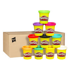 amazon com play doh 10 pack of colors amazon exclusive toys