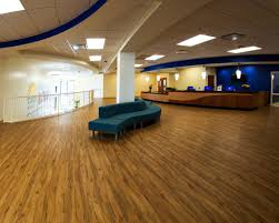recently completed commercial flooring interiors