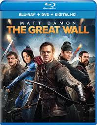 amazon com the great wall blu ray matt damon jing tian pedro