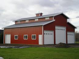 pole barn plans cascade pole buildings horse barn construction contractors in