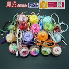 clear acrylic bauble and flower keychain hanging ornaments