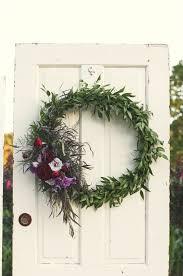 Wedding Wreaths Rustic Plum And Gold Wedding Ideas