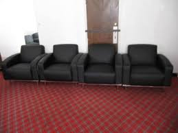 Office Reception Chairs Black Leather Club Chairs Reception Chairs Aoli Office