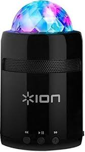 ion bluetooth speaker with lights ion audio party starter mk ii pocket sized bluetooth speaker with