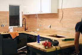 shiplap kitchen backsplash with cabinets how to make an inexpensive plank backsplash a beautiful mess