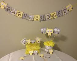 owl themed baby shower decorations owl baby shower decorations etsy