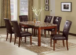 Seven Piece Dining Room Set Casual Dining Dinettes Unique Furniture