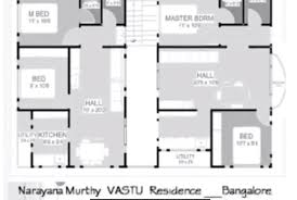 house plan north facing per vastu home design building plans