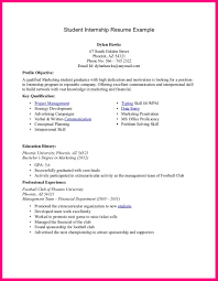 Resume Examples Internship 28 Resume Examples College Students Internships Gallery For