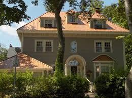 Metal Paint Exterior - 52 best house exterior images on pinterest copper metal copper