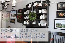 Decorating My Dining Room by Decorating Ideas Decorating The Whole Wall Finding Home Farms