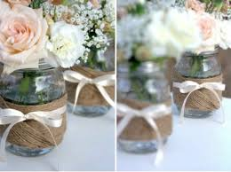 imagenes suvenir para casamiento con frascos de mermelada reciclar frascos de vidrio centros de mesa hermosos para fiestas