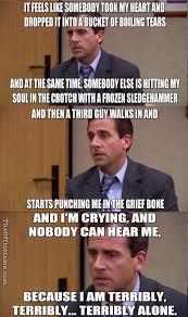 Funny Boob Memes - the office isms michael scott memes