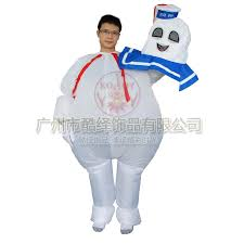 stay puft marshmallow costume fancy ghostbusters stay puft marshmallow