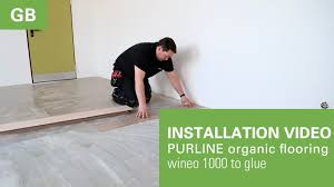 Video Installing Laminate Flooring Installation Video Laying Instrction Wineo 1000 To Glue From