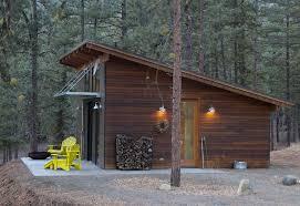 Small Home Construction Hilton Construction Modern Passive Solar Ranch House Methow