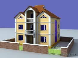 holiday house 3d model 3d land net