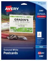 Avery 3380 Template avery postcards 5 1 2 x 4 1 4 120 cards 3380 avery