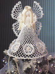 crochet pattern angel christmas tree topper crochet angel