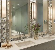 Porcelain Bathroom Vanity Bathroom Vanity With Porcelain Backsplash Tiles Stunning