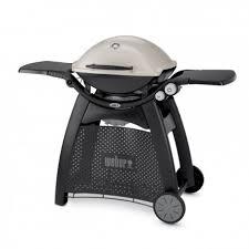 weber outdoork che barbecue a gas q 3000 con carrello integrato titanium weber cod