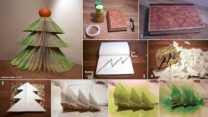 diy book christmas tree pictures photos and images for facebook