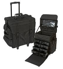 professional makeup storage professional rolling fabric makeup ts302bk 219 98