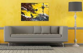 Yellow Living Room Decor Home Design 87 Appealing Wall Art Ideas For Living Rooms