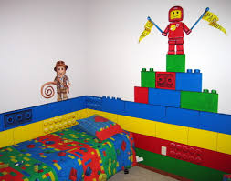 brick lego room for the toy room home dec faves pinterest lego wall mural featuring indiana jones and flag bearing lego character