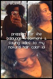 Coloring Natural African American Hair Six Twenty Seven Balayage Results On Natural African American Hair