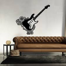 Guitar Home Decor Online Buy Wholesale Guitar Wall Murals From China Guitar Wall