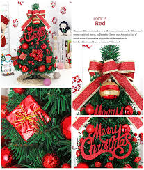Buy Small Decorated Christmas Tree by Cheap Small Decorated Table Top Christmas Tree For Shop Window