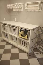 Laundry Room Table With Storage Laundry Sorter Folding Area Table For Basement To Fold Laundry