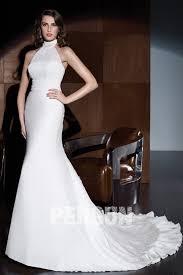 robe de mari e dentelle sirene robe de mariée à col mandarin empire sirène en dentelle persun fr