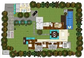 frangipani country estates courtyard home