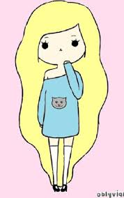 imagenes de monitas kawaii cute stuff to draw tumblr google search oblyvian girl