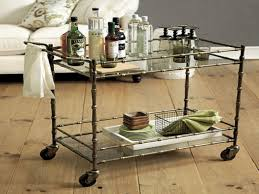 dining room cart dining room bamboo bar cart ballard designs jill bar cart for