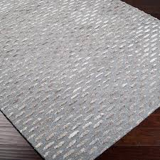 What Is A Tufted Rug Alanis Gray U0026 Silver Geometric Wool Hand Tufted Area Rug U0026 Reviews