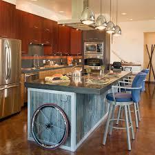 metal kitchen islands industrial modern industrial kitchen denver by fieldwork