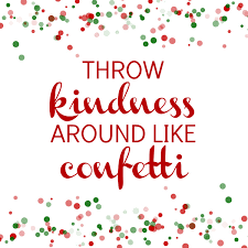random acts kindness advent calendar