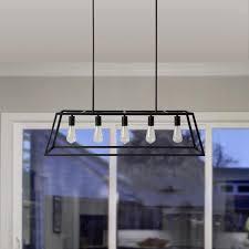 iron kitchen island russ160 black iron 5 light kitchen island pendant free shipping